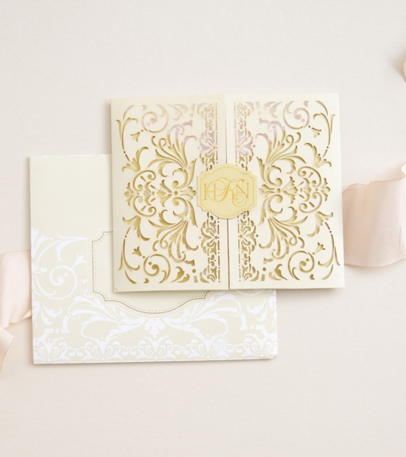 Exquisite vintage inspired lace cutwork
