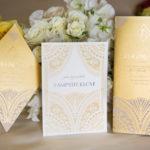 wedding day stationery | Azure