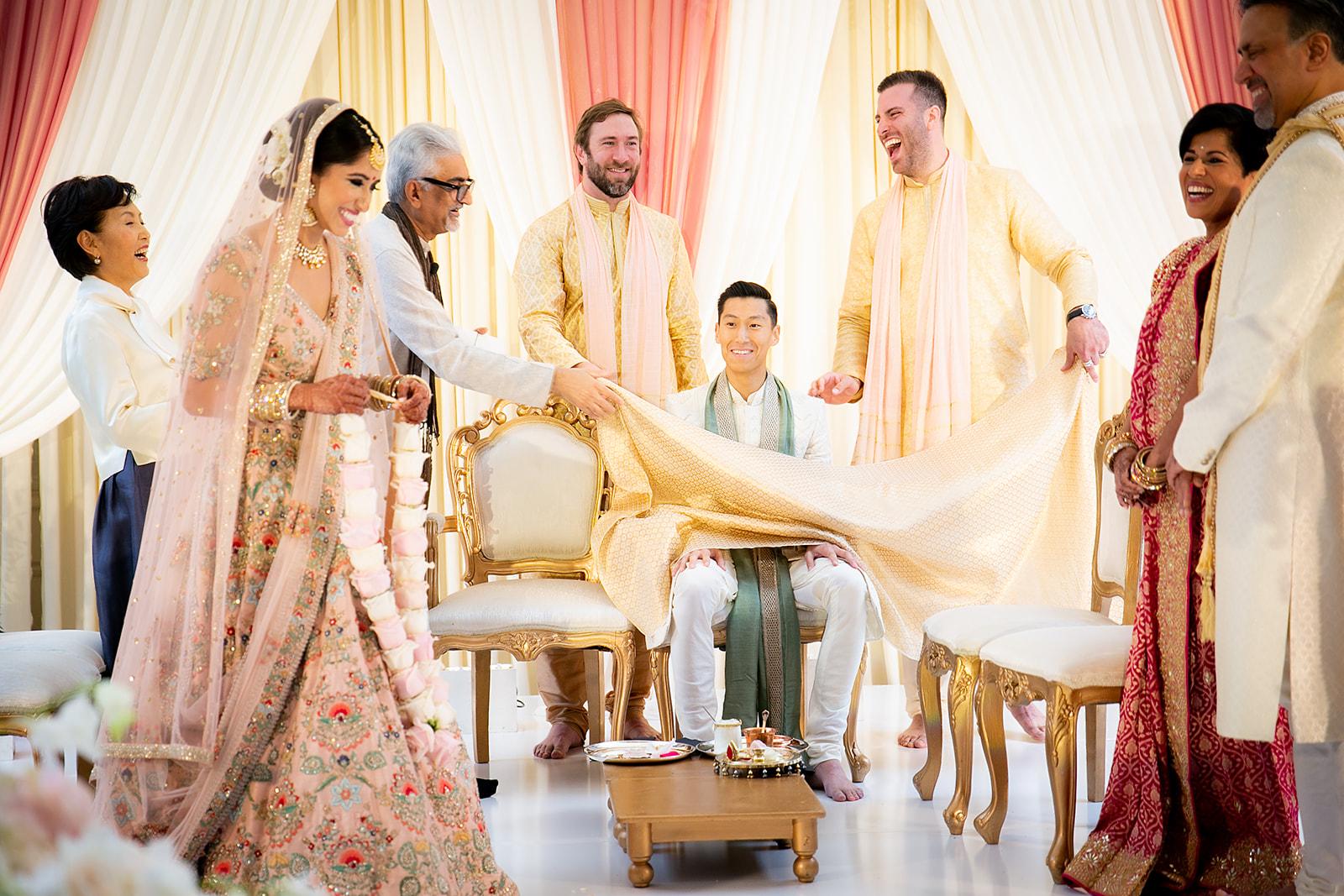 Indian Korean Multicultural wedding