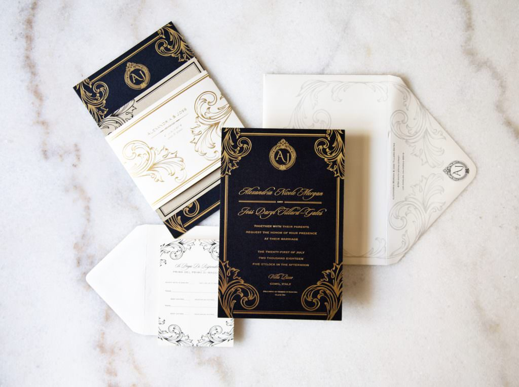 custom invitation suite